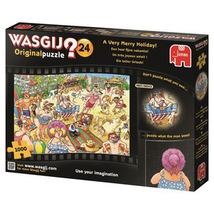 Jumbo 19128 - Wasgij, Ein toller Urlaub, Puzzle, 1000 Teile