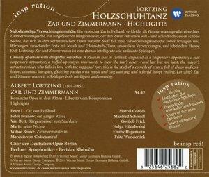 Holzschuhtanz:Zar Und Zimmermann-Highlights