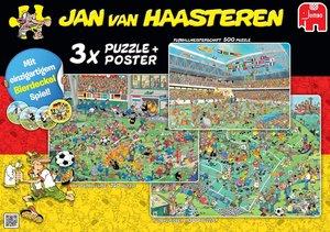 Jumbo 19006 - Jan van Haasteren - 3in1 Fußball Special
