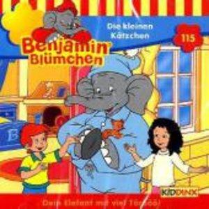 Benjamin Blümchen 115. Die kleinen Kätzchen