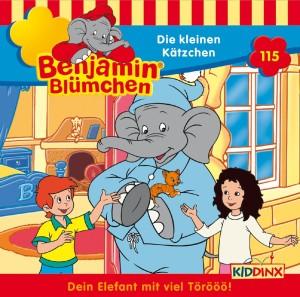 Benjamin Blümchen 115. Die kleinen Kätzchen - zum Schließen ins Bild klicken