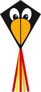 Invento 102124 - Ecoline: Eddy Raven 70cm - Drachen