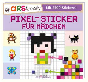 Pixel-Sticker für Mädchen