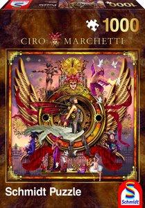 Schmidt Spiele 59275 - Ciro Marchetti, Orakel, Quadratpuzzle, 10