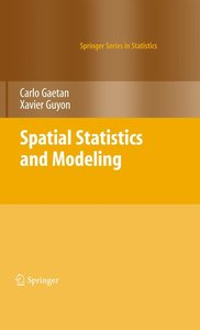 Spatial Statistics and Modeling