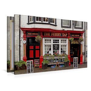 Premium Textil-Leinwand 120 cm x 80 cm quer Pub in South Queensf