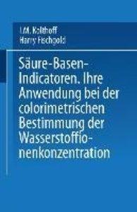 Säure - Basen - Indicatoren