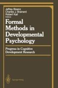 Formal Methods in Developmental Psychology