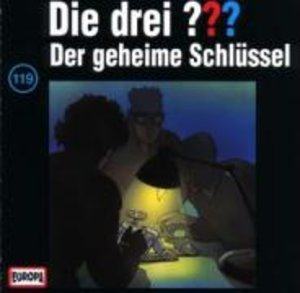 Die drei ??? 119. Der geheime Schlüssel. (drei Fragezeichen). CD
