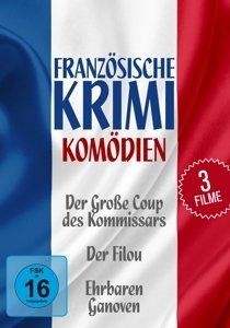 Ardant, F: Französische Krimi-Komödien