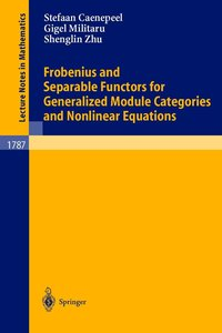 Frobenius and Separable Functors for Generalized Module Categori