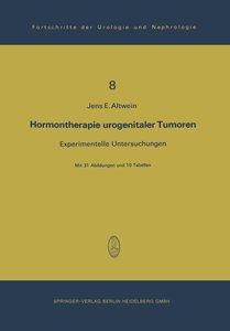 Hormontherapie urogenitaler Tumoren