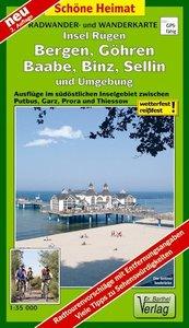Insel Rügen: Bergen, Göhren, Baabe, Binz, Sellin und Umgebung Ra