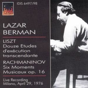 Lazar Berman,Klavier