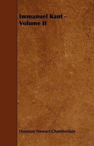 Immanuel Kant - Volume II