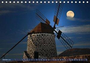 Wundersames Licht des Mondes (Tischkalender 2016 DIN A5 quer)