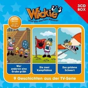 Wickie Wickie - 3-CD Hörspielbox Vol. 5