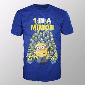 Minions-1 In A Minion (Shirt L/Blue)
