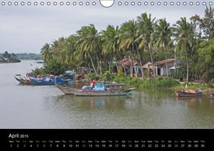 Indochina (UK-Version) (Wall Calendar 2015 DIN A4 Landscape)