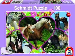 Pferdeliebe, 100 Teile Puzzle