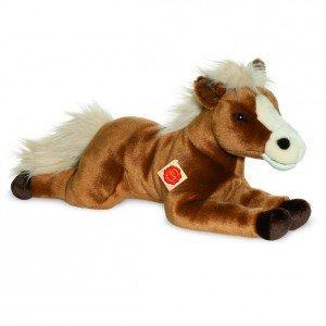Teddy Hermann 90255 - Pferd liegend braun
