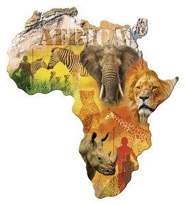 Puzzle Afrikanischer Kontinent