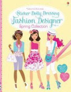 Sticker Dolly Dressing Fashion Designer: Spring Collection