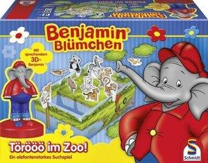 Schmidt Spiele 40514 - Benjamin Blümchen: Törööö im Zoo