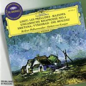 Die Moldau/Les Preludes/Mazeppa/+