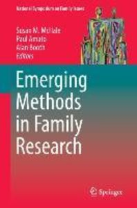 Emerging Methods in Family Research