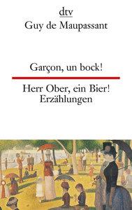 Herr Ober, ein Bier / Garcon, un bock