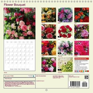 Flower Bouquet (Wall Calendar 2015 300 × 300 mm Square)