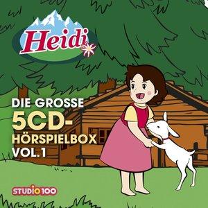 Heidi-Die Große 5-CD Hörspielbox Vol.1