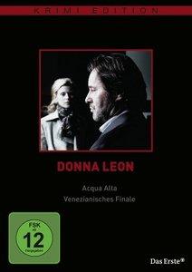 Donna Leon: Acqua Alta / Venezianisches Finale (Krimiedition)