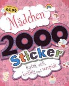 Mädchen 2000 Sticker