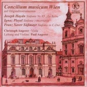 Sinfonie 85/Sinfonie Conc.P.35/Sinfonie C-Dur