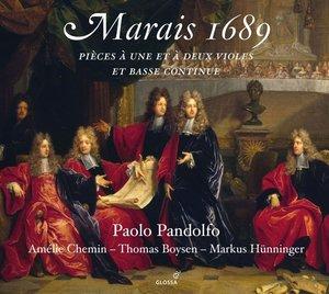 Marais 1689-Pi?ces ? deux Violes
