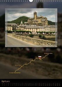 Way of St. James - Via Podiensis / UK-Version (Wall Calendar 201