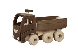 Goki 55914 - Holz Lkw Kipper Nature