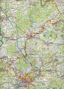 Freizeitkarte Rheinland-Pfalz Natur- und Geopark Vulkaneifel 1 :
