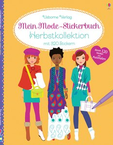 Mein Mode-Stickerbuch: Herbstkollektion