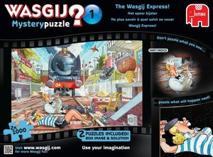Wasgij Mystery 01. Wasgij Express: Die Spur verlieren. Puzzle 2