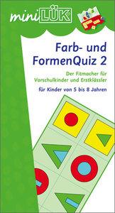 LÜK mini. Farb- und Formenquiz 2