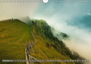 The Swiss Alps by TELL-PASS (Wall Calendar 2015 DIN A4 Landscape