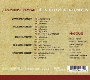 Rameau Pieces De Clavecin