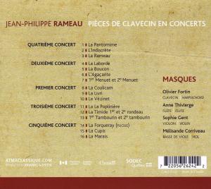 Rameau Pieces De Clavecin - zum Schließen ins Bild klicken