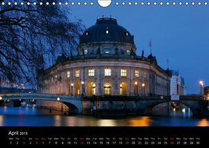 Evening Walk through Berlin (Wall Calendar 2015 DIN A4 Landscape