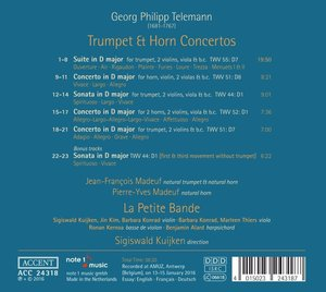 Trumpet & Horn Concertos