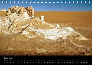 Weisse Wüste Ägypten (Tischkalender 2016 DIN A5 quer)