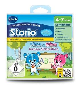 Vtech 80-232604 - Storio 2 Lernspiel, Nino Lernen